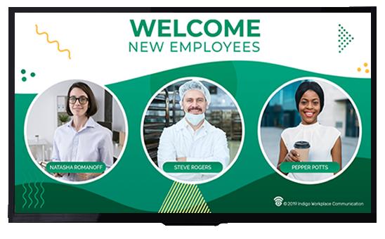 New employees - Indigo Workplace Communication