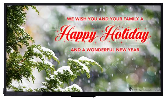 Happy Holiday - Indigo Workplace Communication